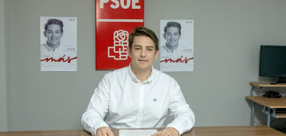 Héctor Lisero, «si el PSOE gobierna en Coria se pondrá en marcha la licitación que dé paso al nuevo pabellón»