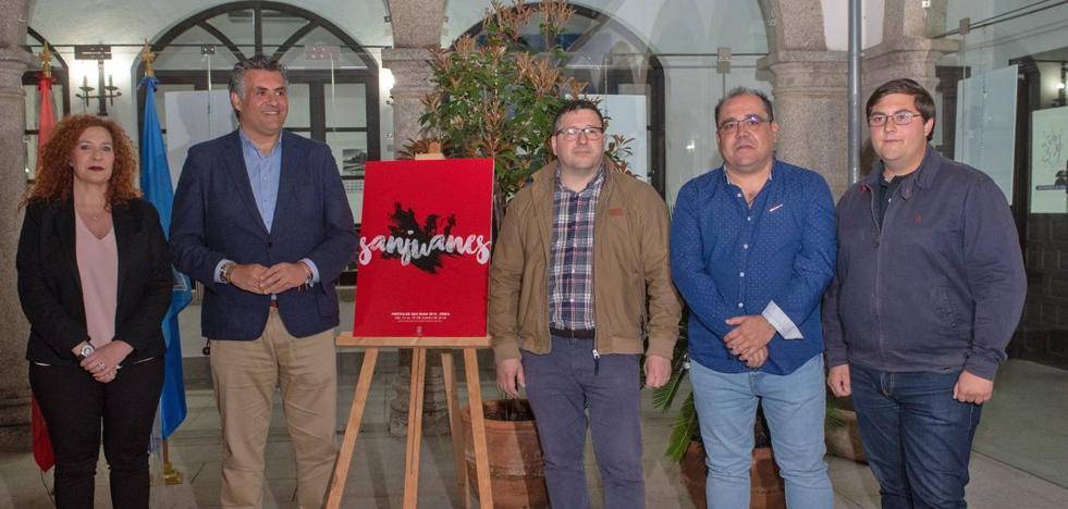 La cauriense Inés López Bravo ganadora del cartel de las Fiestas de San Juan
