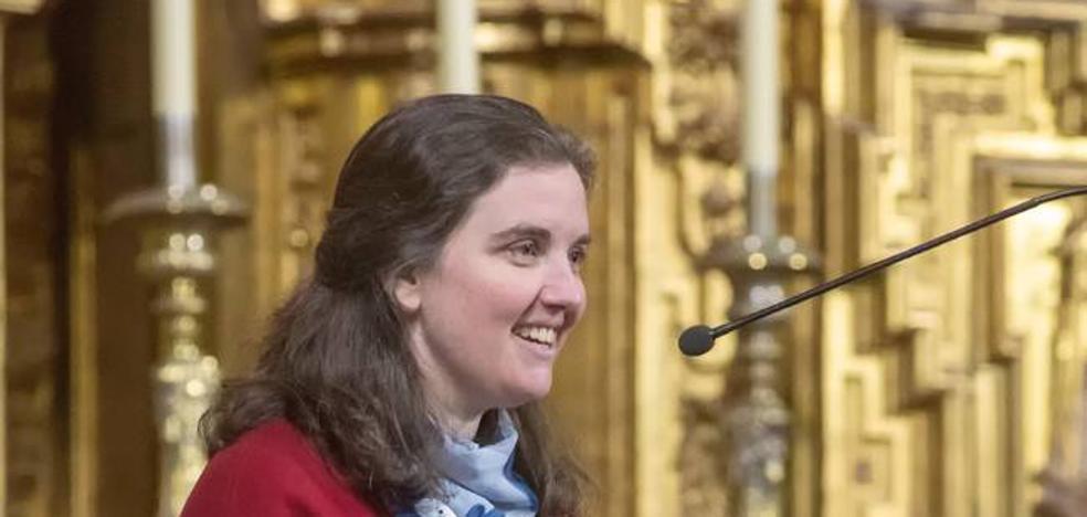 Elocuente pregón de la Semana Santa Cauriense de la hermana Sandra Sánchez Montero