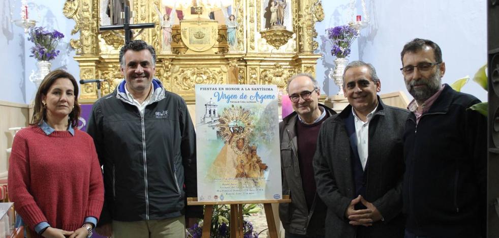 Presentado el cartel de las fiestas de la Virgen de Argeme