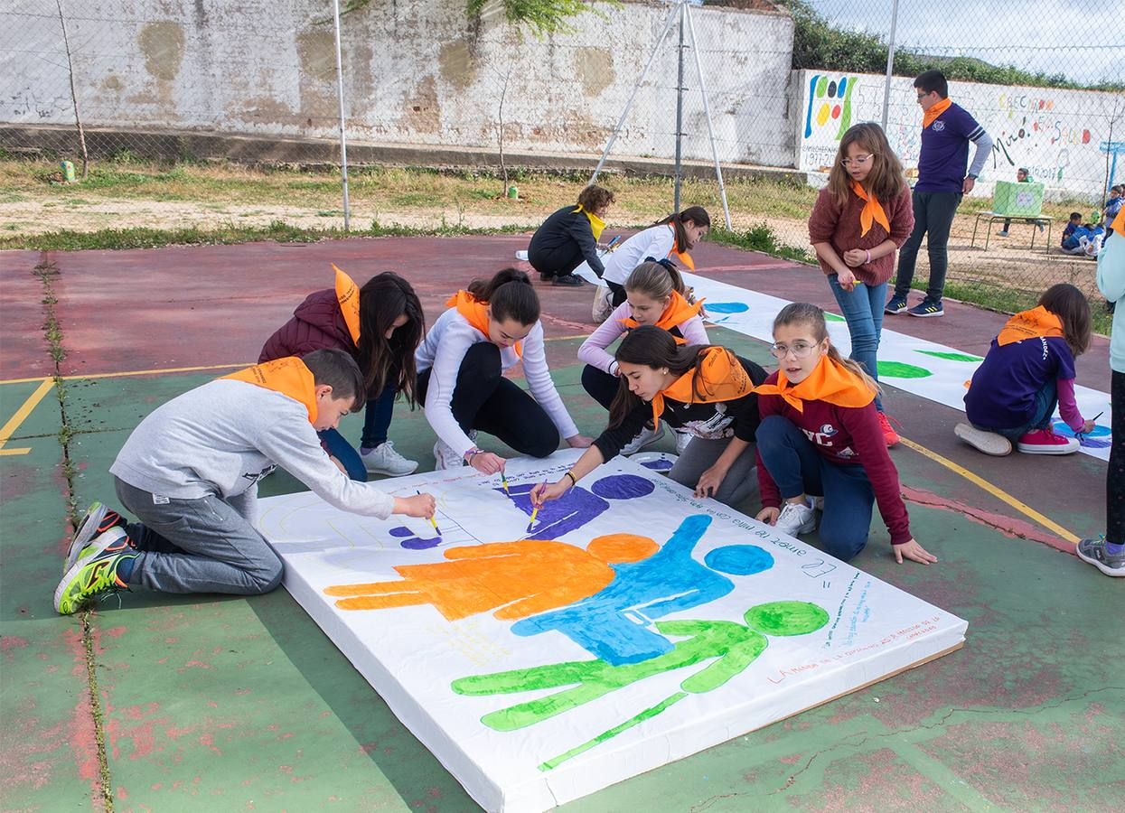 Diversidad de talleres en la Semana Cultural de colegio Camilo Hernández