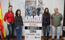 El grupo musical Dvicio ofrecerá un concierto en Coria el día 16 de agosto