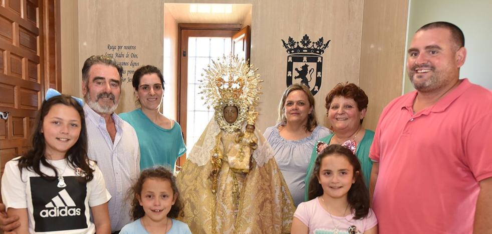 La Morenita regresó a su santuario