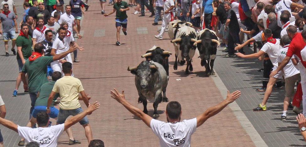 Encierro del toro de la Juventud Cauriense