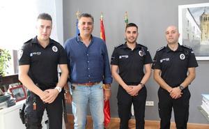 La policía municipal incorpora dos nuevos agentes a su plantilla