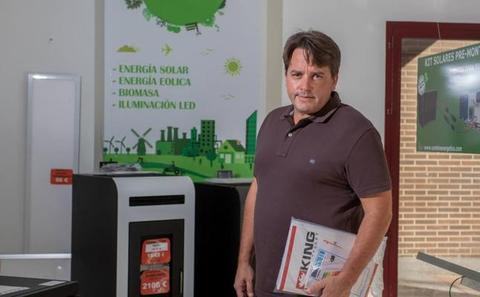 «Lo que más me satisface es que mi empresa sea pionera en España en energías renovables»