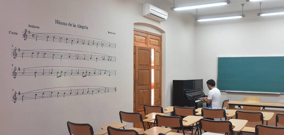 El 2 de septiembre se abre el plazo de matrícula de la Escuela Municipal de Música