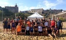 Alejandro Sánchez y Jesús Almohalla ganadores del VIII Torneo Vóley-Playa 'Ciudad de Coria'