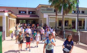 1.092 alumnos de Infantil y Primaria iniciarán en Coria un nuevo curso el próximo jueves, día 12