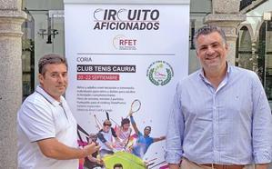 La localidad acogerá este fin de semana el III Torneo de Tenis de aficionados