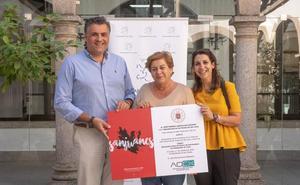 AOEX Coria recibe 4.075 euros de la venta del libro de San Juan