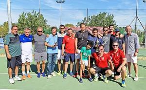 El Club de Tenis Cauria campeón de Extremadura de Tenis Veteranos por Equipos