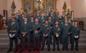 La Guardia Civil festejó a su patrona con diversos actos