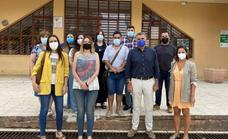 Visita institucional a la Lanzadera de Empleo de Coria, que aún tiene plazas libres