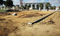 Comienzan las obras de la nueva pista de baloncesto en la ciudad deportiva