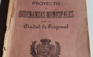 Ordenanzas municipales para la ciudad de Fregenal. 1887 (I parte)