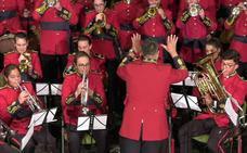 Más de un centenar de músicos participaron en el XII Encuentro de Bandas de la Sierra