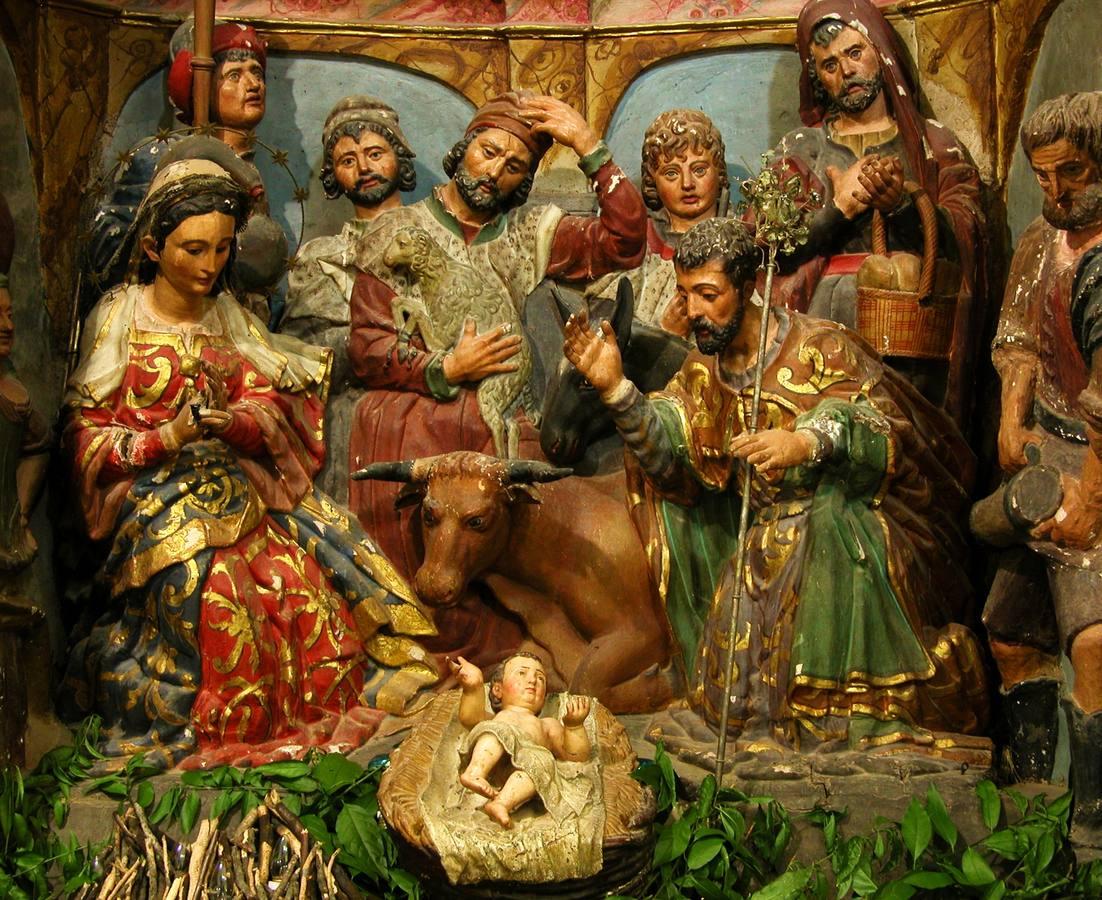 Misa de Navidad en el templo de Santa Catalina a la una de la tarde