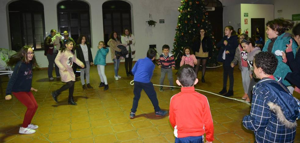 Juegos para los más pequeños en la Plaza de Abastos