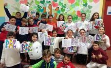 Los alumnos del CEIP San Francisco celebran el Día de la Paz