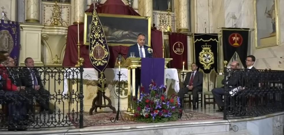 José Luís Magro Carretero pregonero de la semana santa Frexnense 2019
