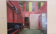 «Vestuario» premio adquisición de la 37º edición del premio internacional de pintura Eugenio Hermoso