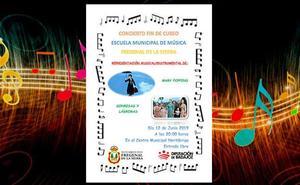 Concierto de fin de curso de la escuela municipal de música de Fregenal de la Sierra