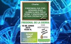 Fregenal recibe una charla sobre fibromialgia