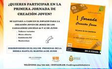 Las primeras jornadas de creación joven se celebrarán en Jerez