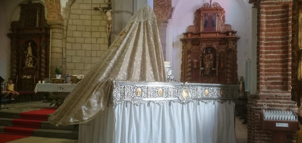 La Virgen de la Salud ya está preparada para sus fiestas