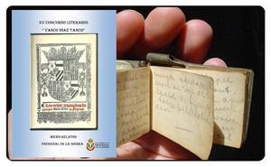 El ayuntamiento de Fregenal convoca el XV concurso de micro relatos «Vasco Díaz Tanco»