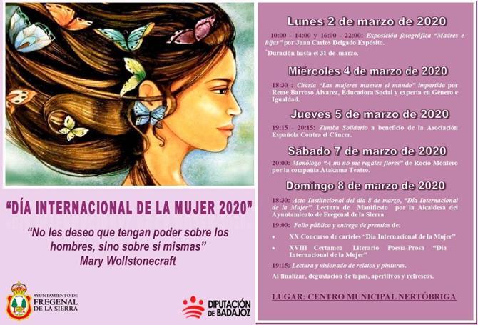 Dia de la mujer 2020 en Fregenal
