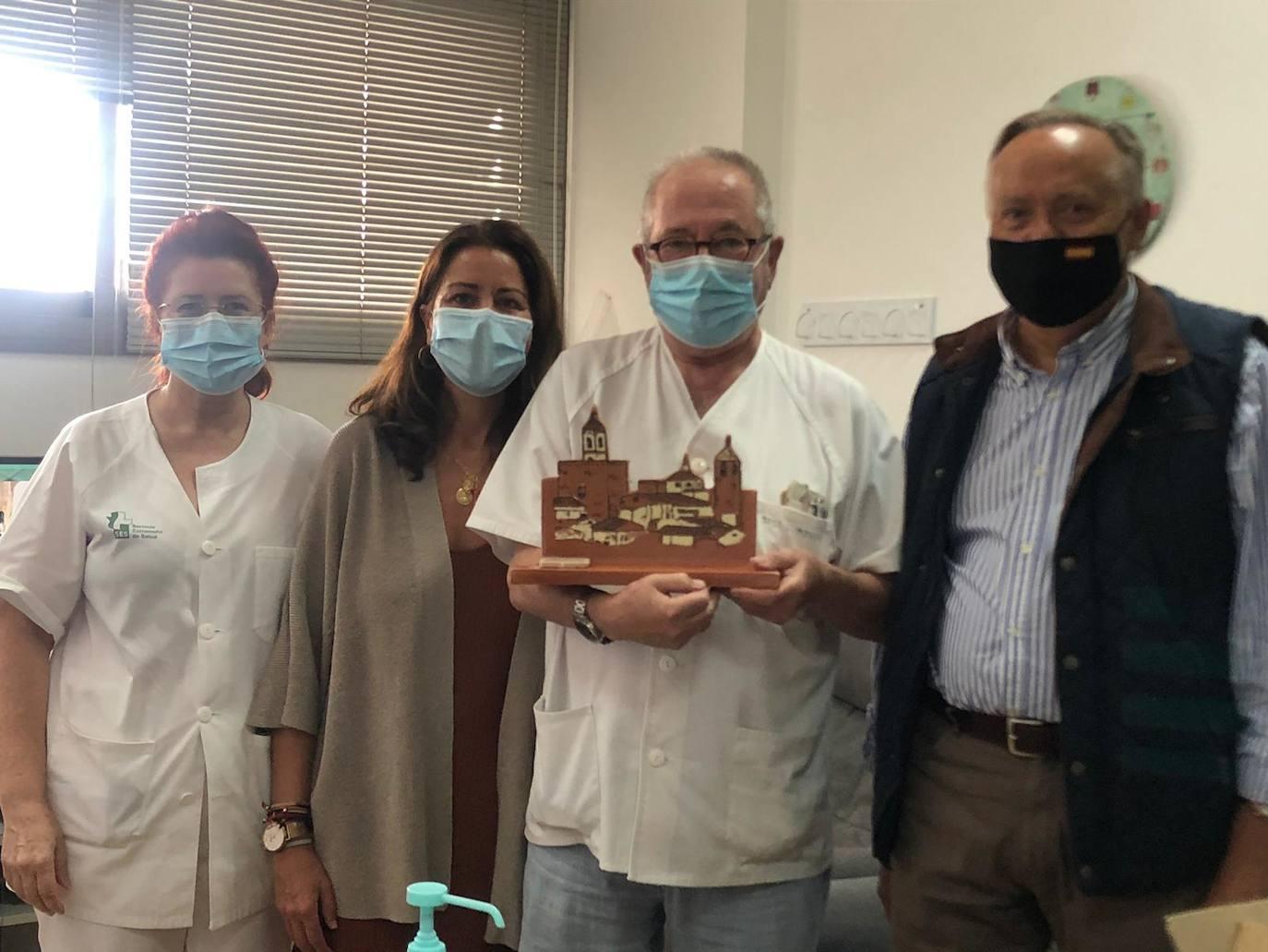 Doctor Don José Luis Moreno: «Fregenal es un pueblo en el que da gusto trabajar»