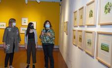 Alicia Aradilla protagoniza la exposición del año Xacobeo en Santiago