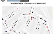 La calle Bazán y sus aledañas se reorganizarán al tráfico