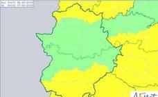 Alerta amarilla por viento este miércoles en el suroeste de Badajoz