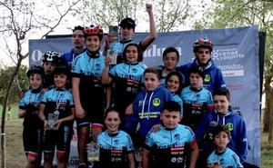 Alumnos de 'Puerto Lobo Tentudía' consiguen un segundo puesto en la Judex BTT Promoción de Quintana