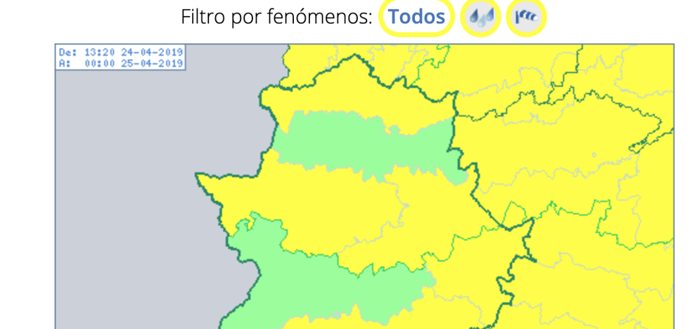El viento mantiene este miércoles en alerta amarilla al sur de Badajoz