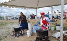118 peñas se reúnen este fin de semana en torno a la fiesta de La Chanfaina en Fuente de Cantos