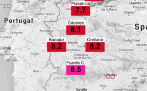 Fuente de Cantos cuenta con una de las seis estaciones que miden la radiación ultravioleta en la región