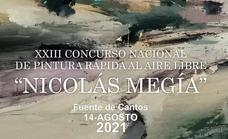 Llega el XXIII Concurso Nacional de Pintura 'Nicolás de Megía'