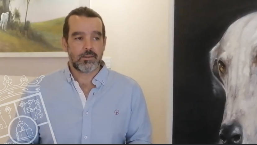 El pintor sevillano Miguel Ángel González expone «Identidad»