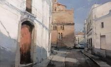 El artista malagueño Cristóbal León García ganador del concurso de pintura Nicolás Megía