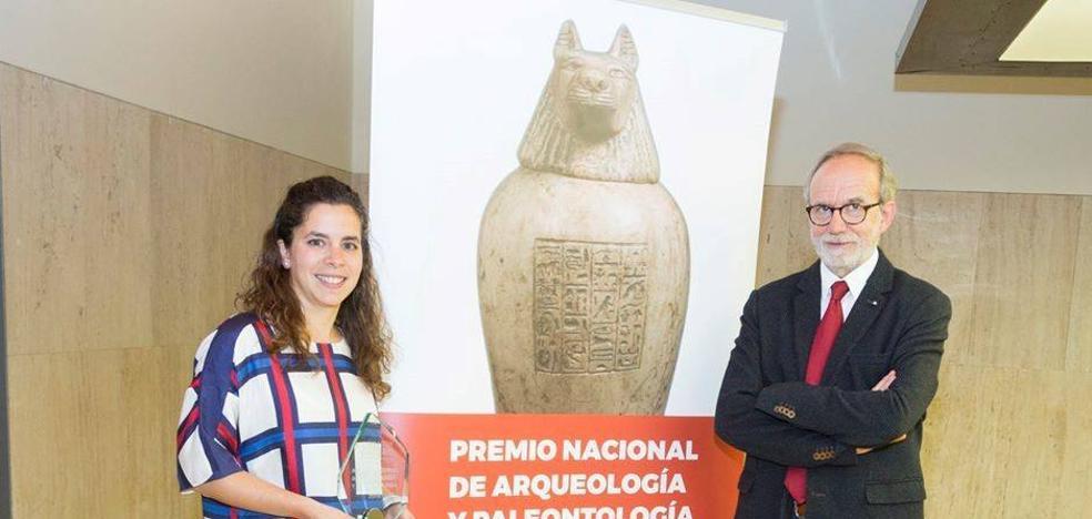 Los codirectores del Turuñuelo recogieron el Premio que le concedió la Fundación Palarq