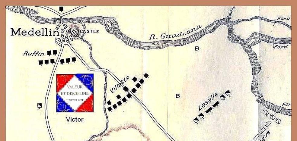 Cuando 107 vecinos de Guareña lucharon contra los franceses en la batalla de Medellín