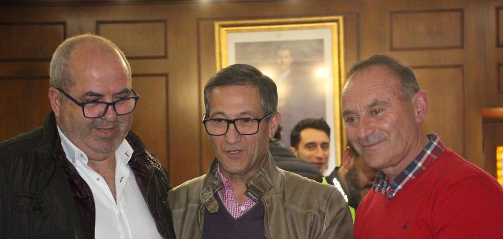 Se jubilaron los policías Juan Cuéllar, Antonio Palma e Isidro Moreno