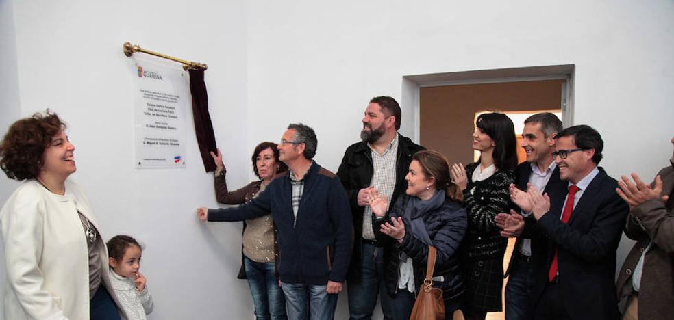 Inaugurada la nueva biblioteca Eugenio Frutos