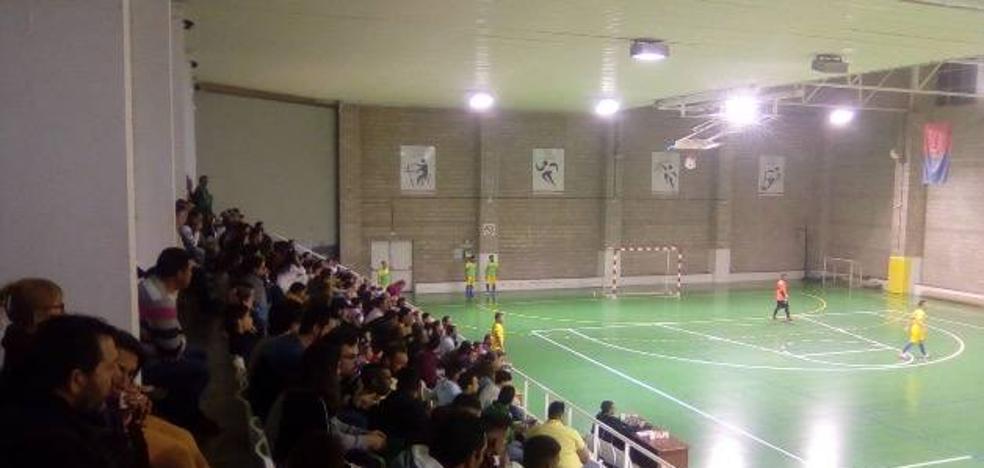 El Fútbol Sala Guareña perdió 1-7 ante el Valdetorres