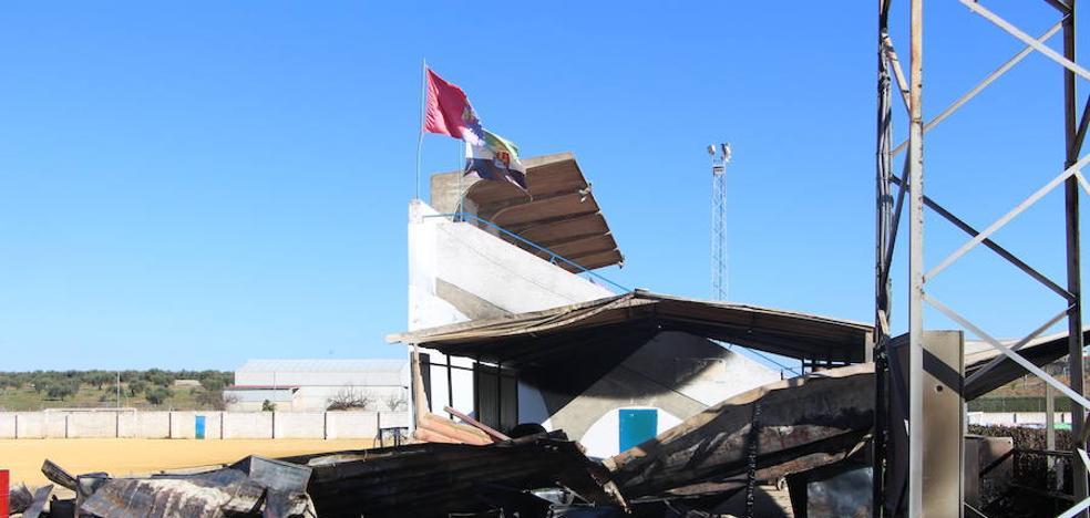 El CP Guareña sufre un fuerte golpe tras el incendio de su caseta