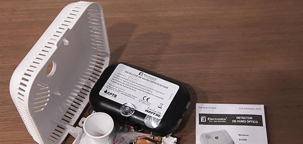 Se podrán instalar hasta 72 detectores de humo en domicilios con personas mayores